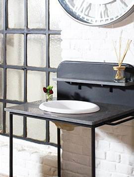 meuble salle de bain industriel made in meubles. Black Bedroom Furniture Sets. Home Design Ideas
