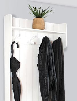 Porte-manteau vintage