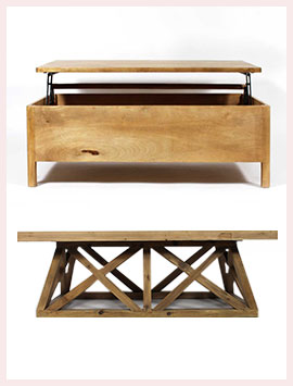 Table Basse Bois Massif Made In Meubles