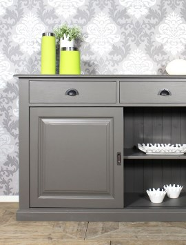 buffet bois massif buffet en bois made in meubles. Black Bedroom Furniture Sets. Home Design Ideas