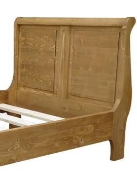 cadre lit bois massif 1 personne 90 x 190 cm made in meubles. Black Bedroom Furniture Sets. Home Design Ideas