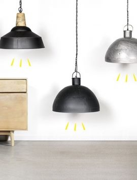 suspension industrielle luminaire industriel made in meubles. Black Bedroom Furniture Sets. Home Design Ideas