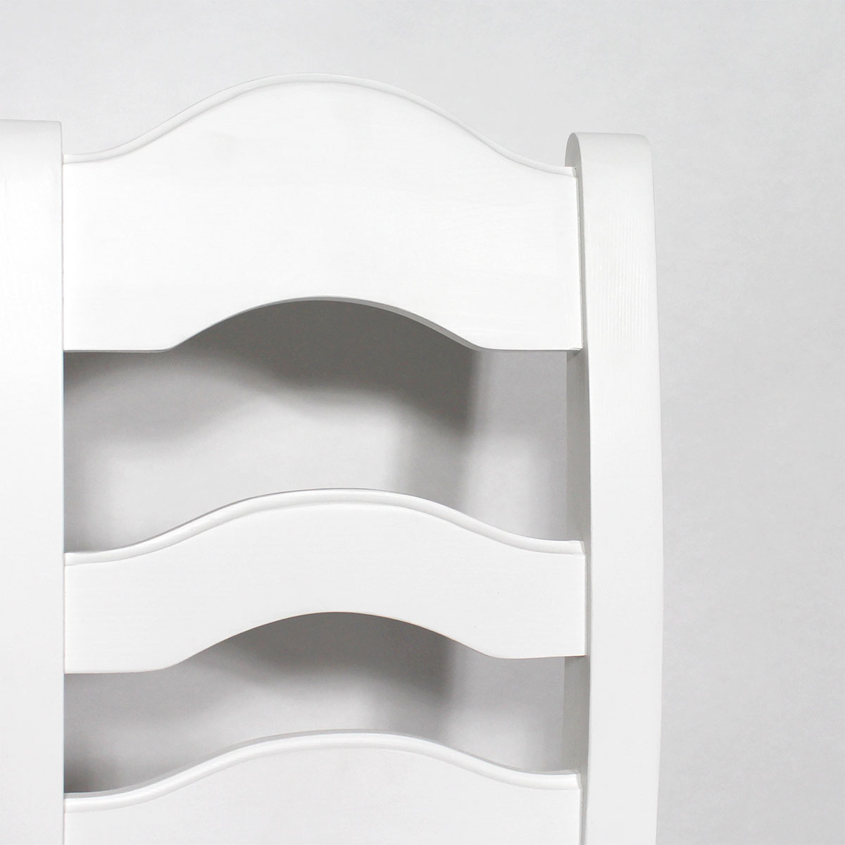 Chaise bois massif blanche