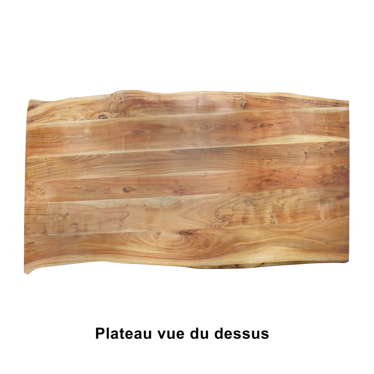table a manger plateau tronc arbre
