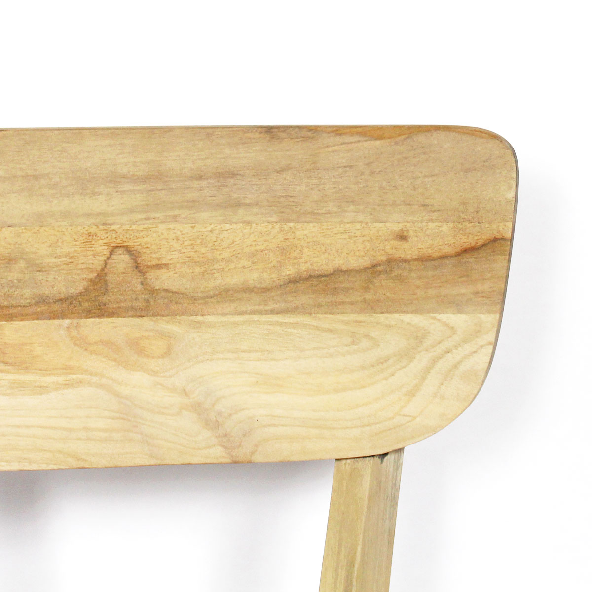 Chaise scandinave en manguier massif