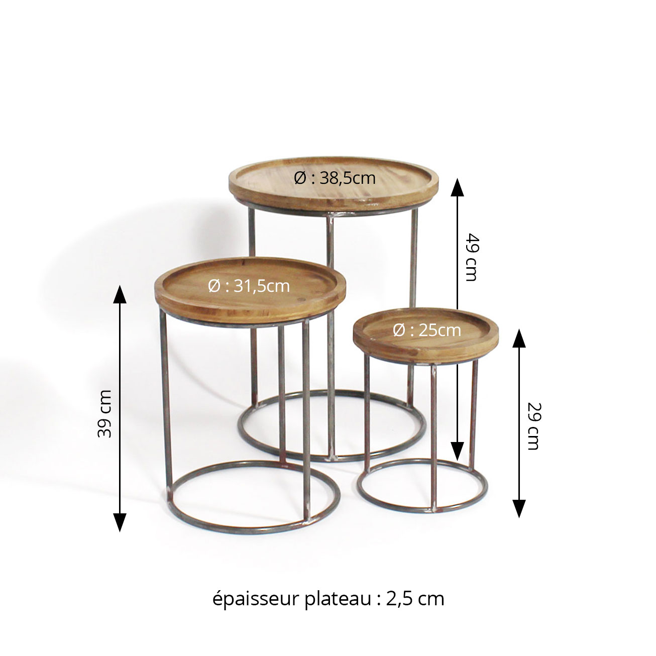 table basse dimensions
