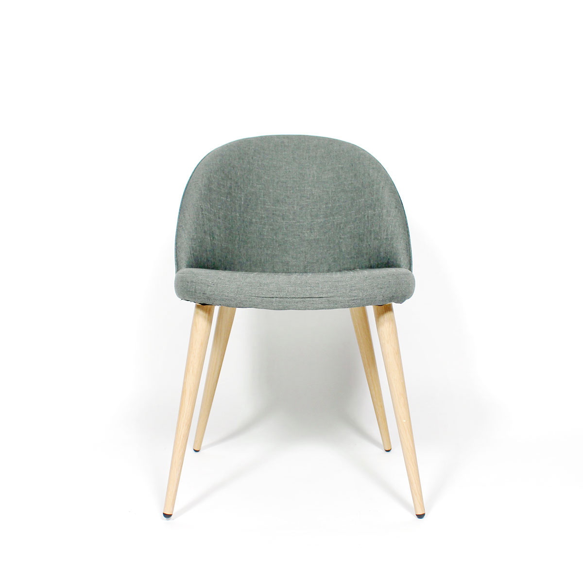 Chaise scandinave gris clair