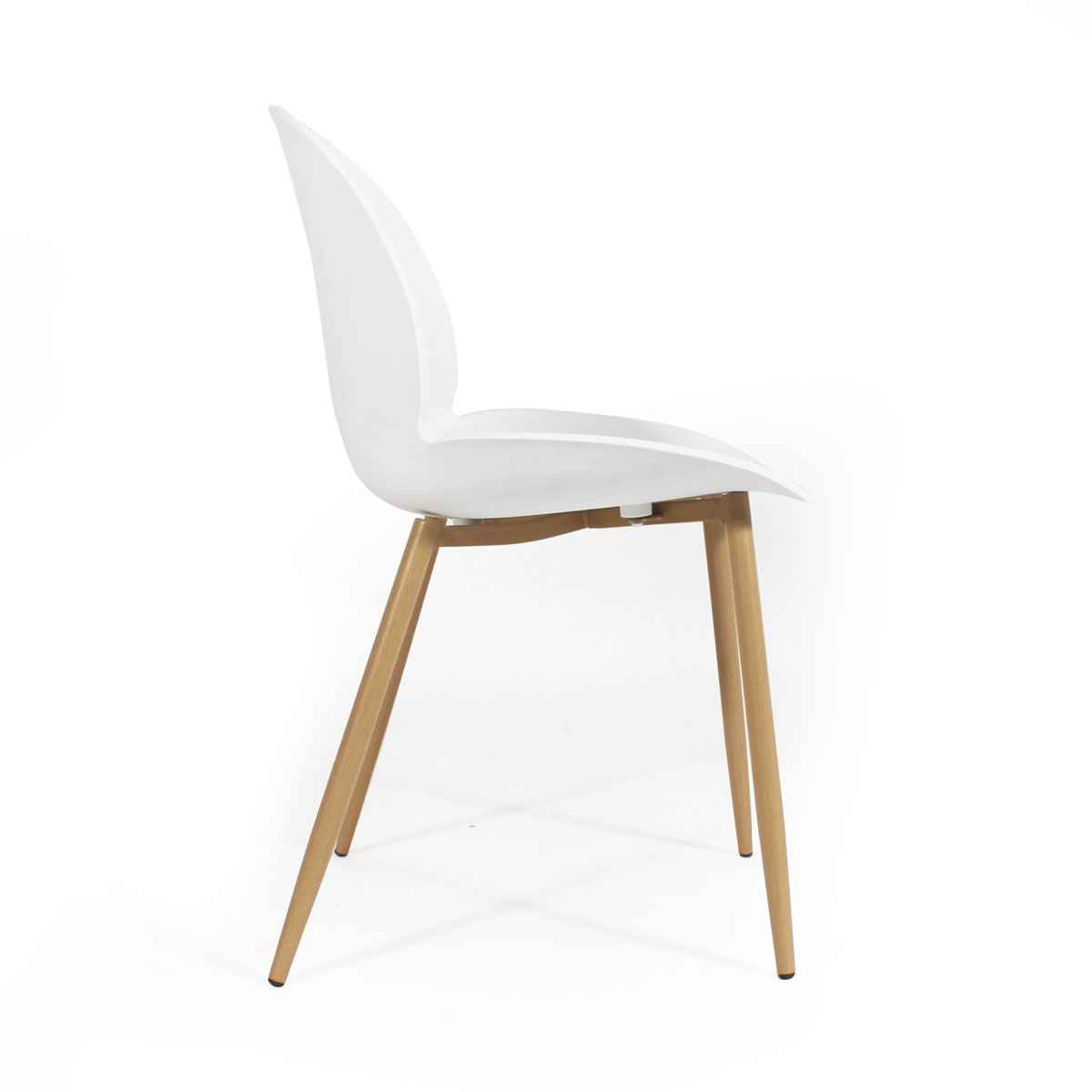 Chaise scandinave blanche salle a manger