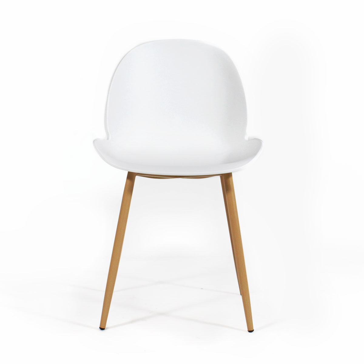 Chaise scandinave blanche assise originale