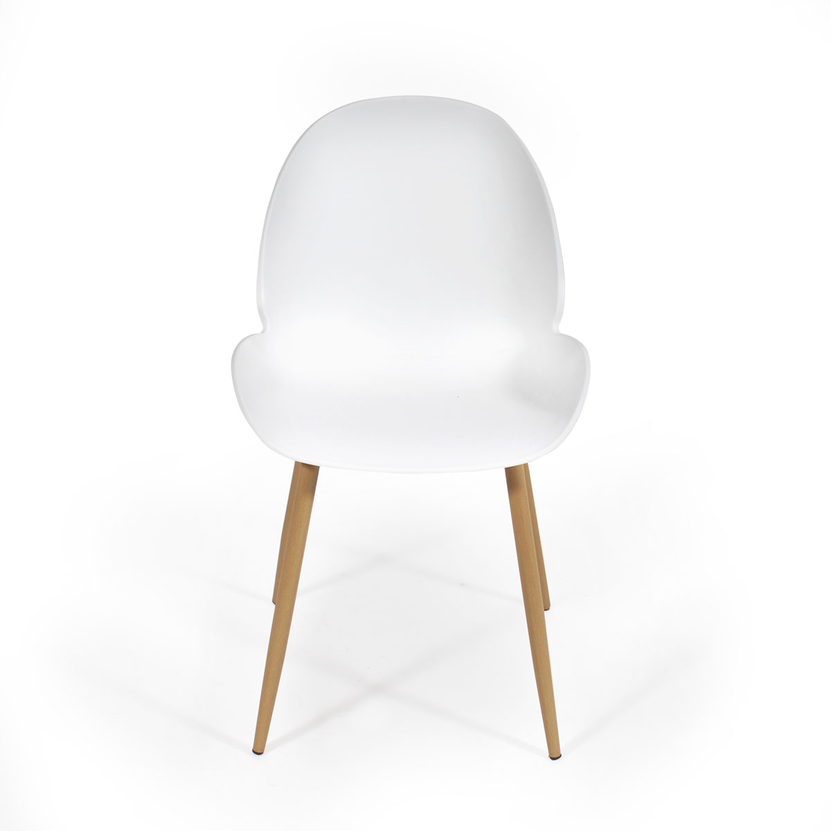 Chaise scandinave blanche moderne
