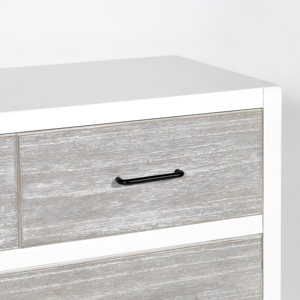 Commode MDF 5 tiroirs style contemporain