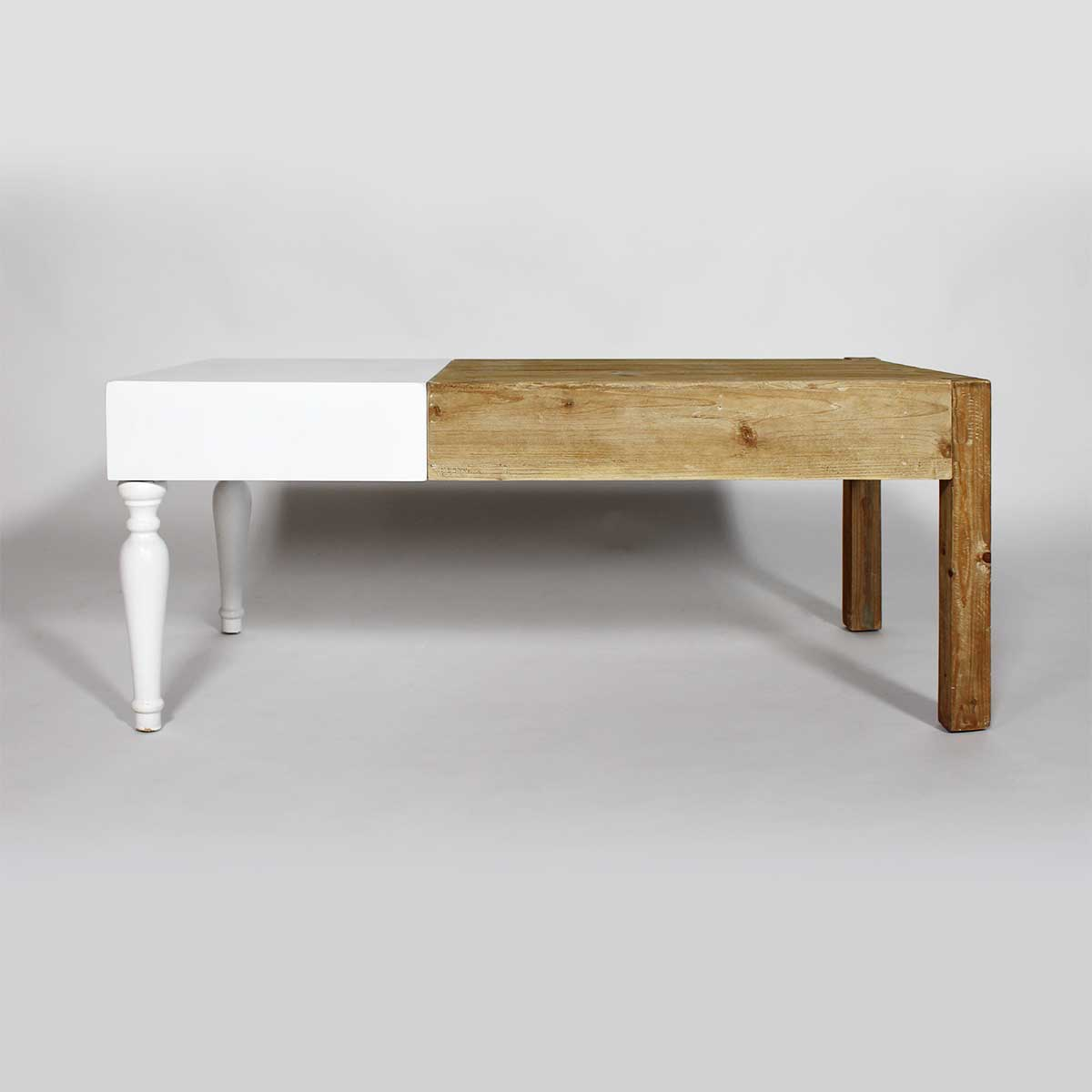 table made in meubles originale bois blanc
