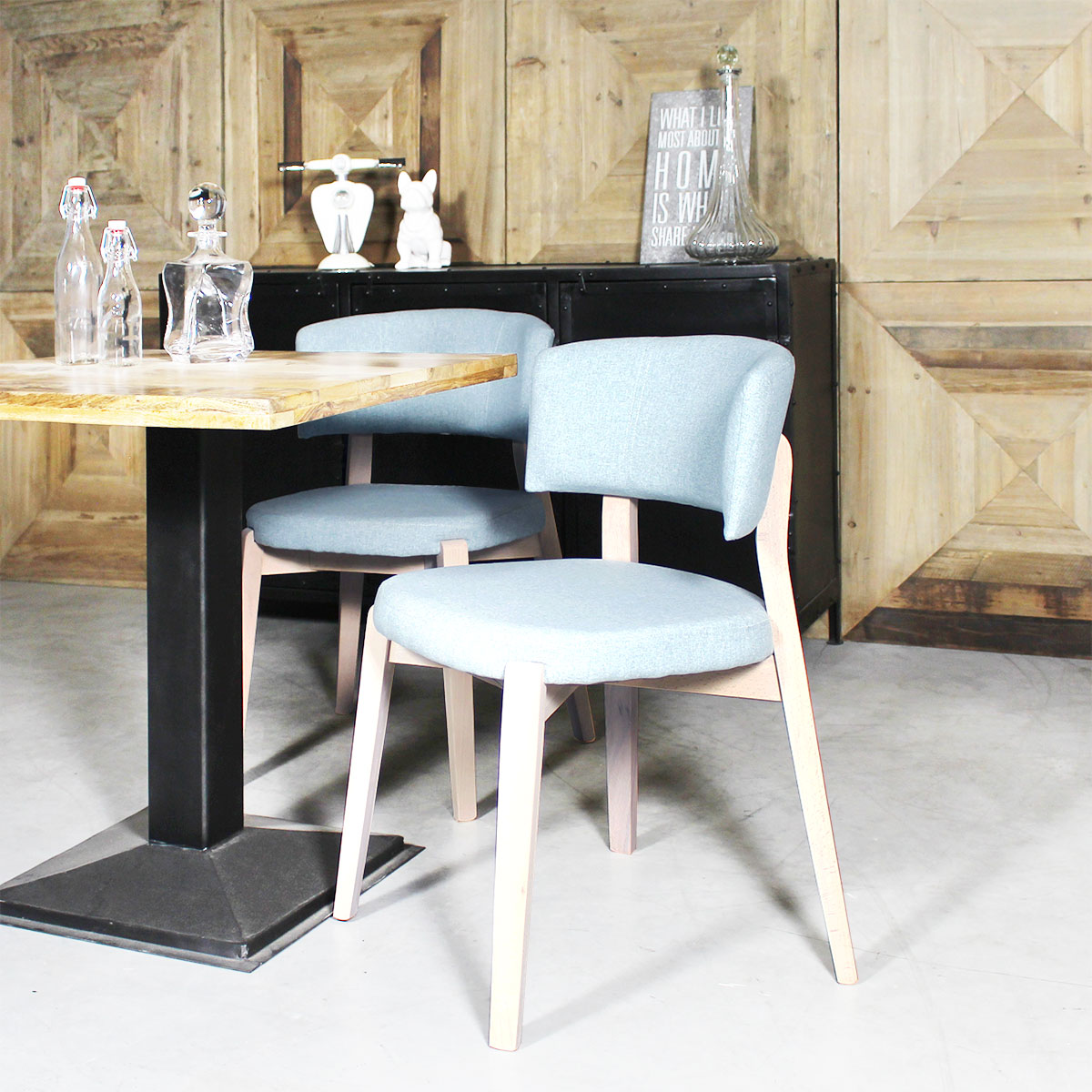 chaises confortable style fauteuil