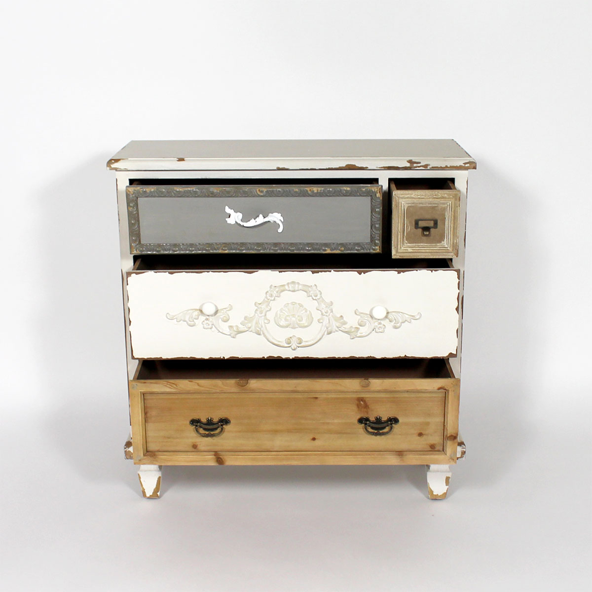 Commode 4 tiroirs style charme