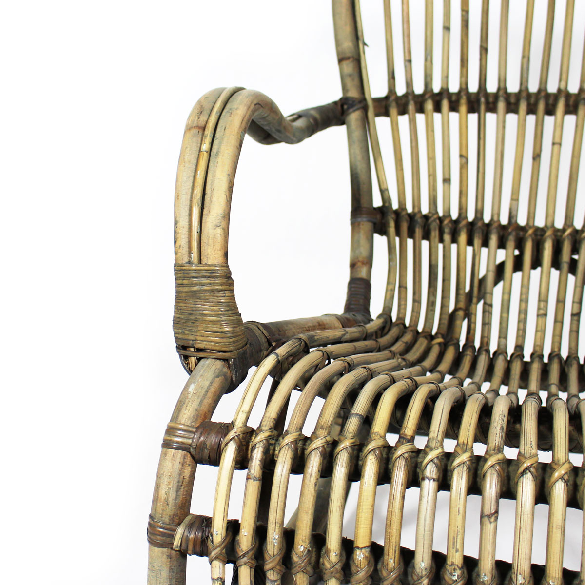 Rocking chair fauteuil vintage