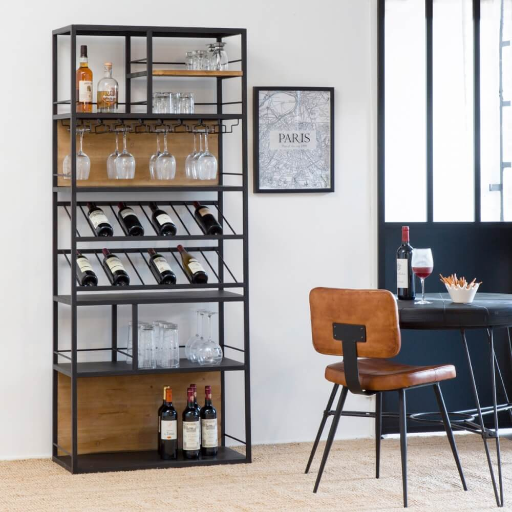 Etagere Range Bouteille Made In Meubles