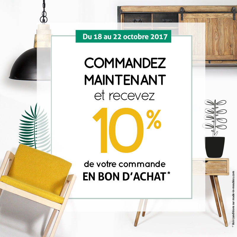 Offre -10 % - OCT